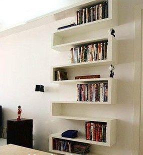 Boekenplanken....leuk.