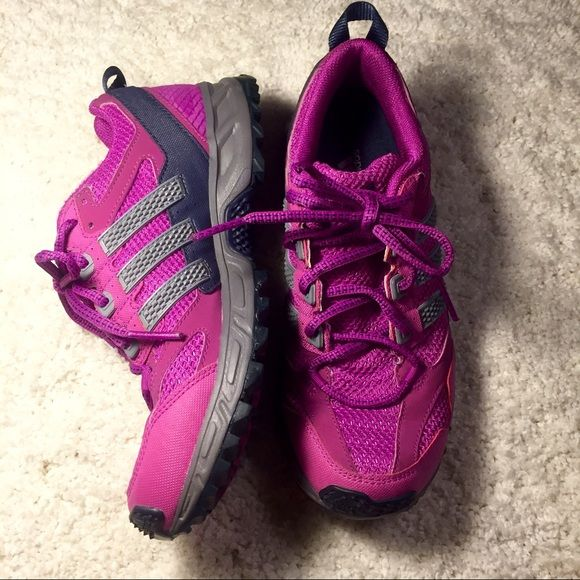 Adidas - Kanadia tr5 Trail Running Shoes Comfy Adidas Trail Running shoes. Only worn a few times. Excellent condition. Size 6.5 Adidas Shoes Athletic Shoes