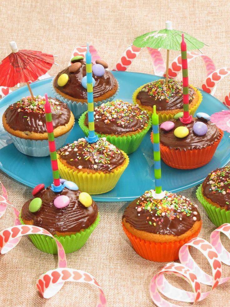 Kindergeburtstags-Muffins Rezept