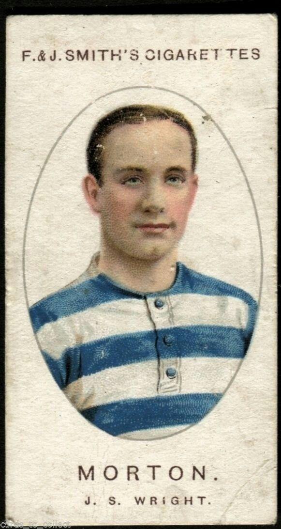 Greenock Morton card from 1917.