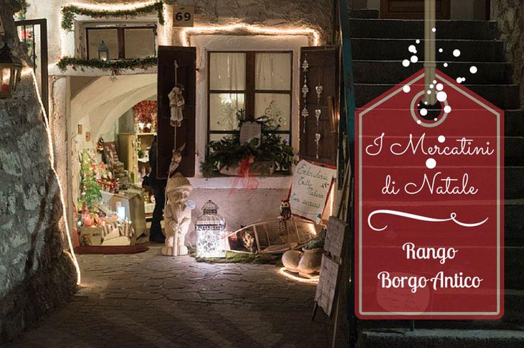 Basterà un attimo per innamorarsi dei Mercatini di Natale Rango. Le antiche case del Borgo prendono vita e portano con sé arti e mestieri dal passato.