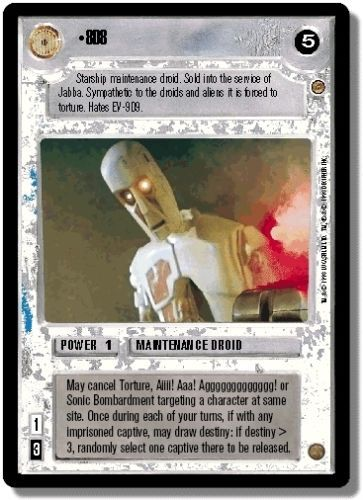 Just a few of the droids from the Star Wars CCG universe by diewannawanga @eBay