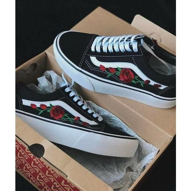Vans 'n Roses Limited Edition | s h o e s in 2019 | Custom