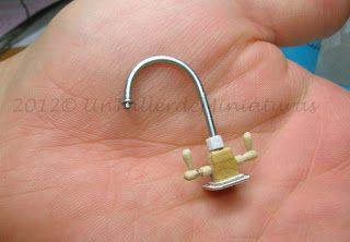 Un Taller de Miniaturas: Tutorial for sink taps