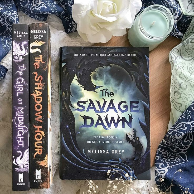 The Girl at Midnight series by Melissa Gray