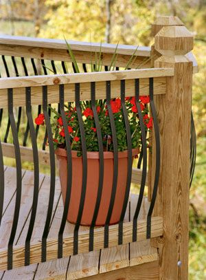 Iron Deck Spindles Pictures