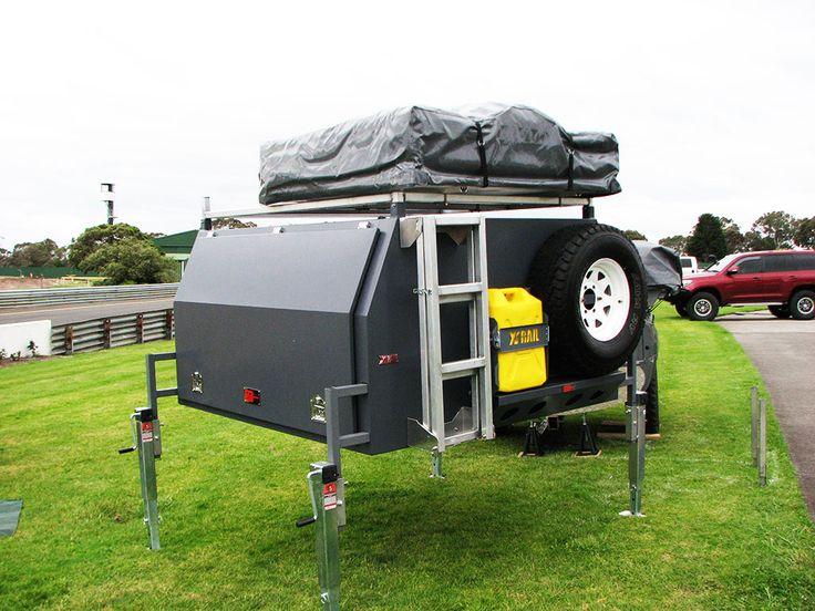 Aussie RV ozToolbox camper aluminium canopy camper