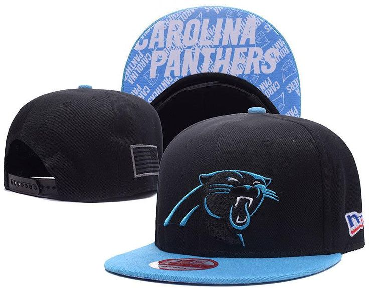 Men's Carolina Panthers New Era 9Fifty NFL Crafted in America Snapback Hat - Black / Blue