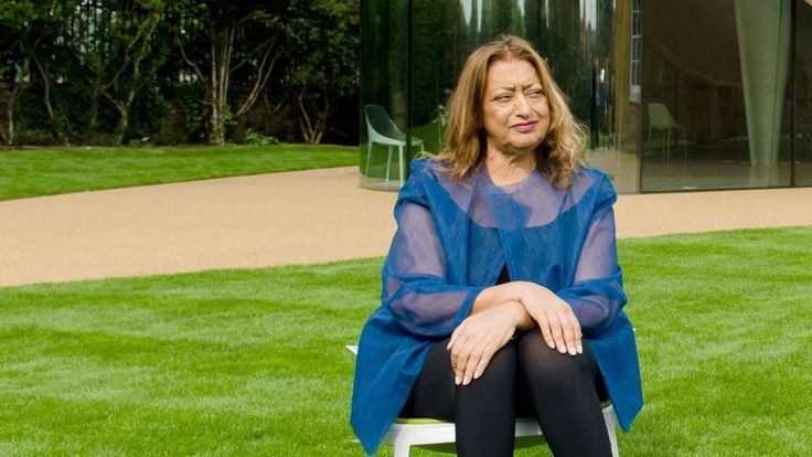 Dame Zaha Hadid is awarded Riba's royal gold medal for architecture, making her the first woman to be awarded the honour in her own right.
