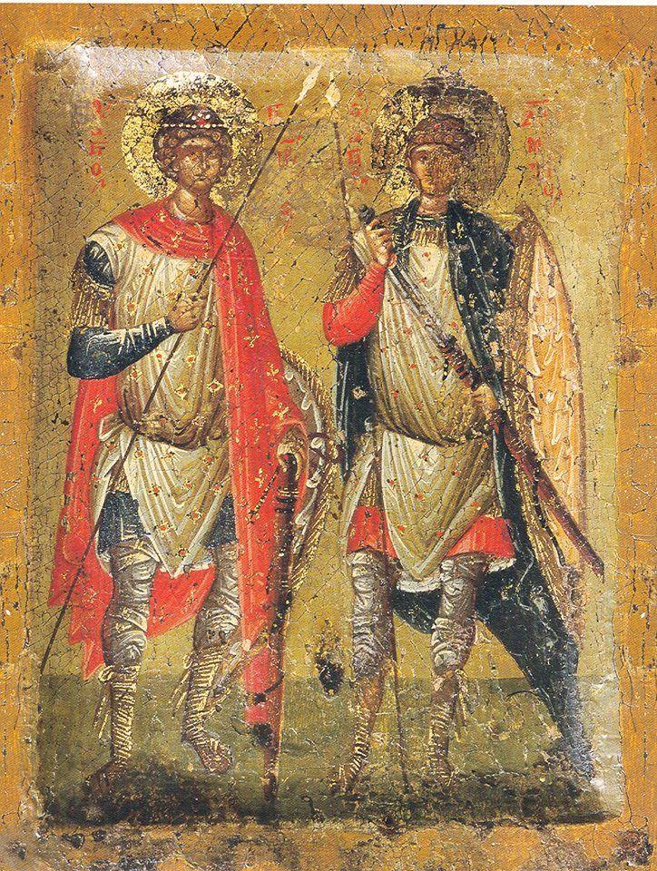 Saints George and Demitrius ❤
