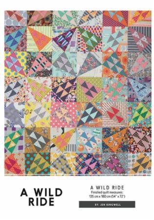 A Wild Ride Quilt Pattern Jen Kingwell
