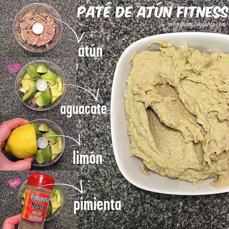 Paté de atún fit (Paté fitness)