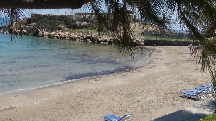Beach at the northern coast of Cyprus... go there with gtravel.pl