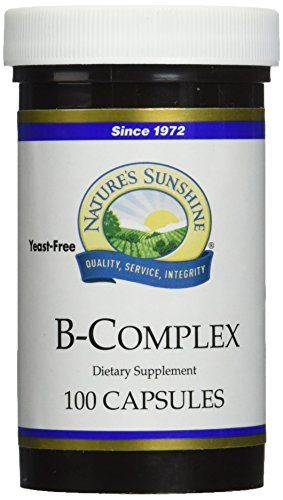 NATURES SUNSHINE BComplex Supplements 100 Count ** Check this awesome product by going to the link at the image.