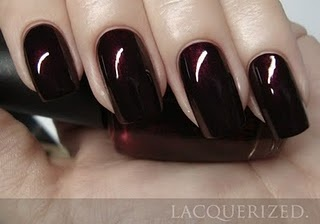 OPI Black Cherry Chutney...Best fall color ever! @Kelly Nelson You got me hooked on this!!!