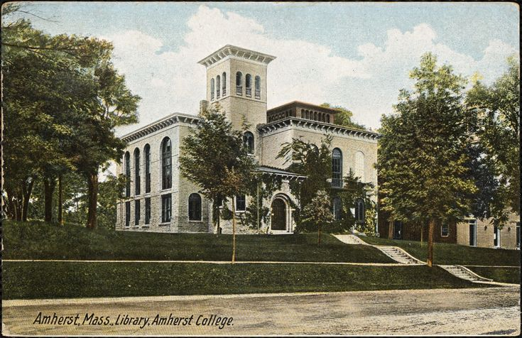 Library, Amherst College, Amherst, MA