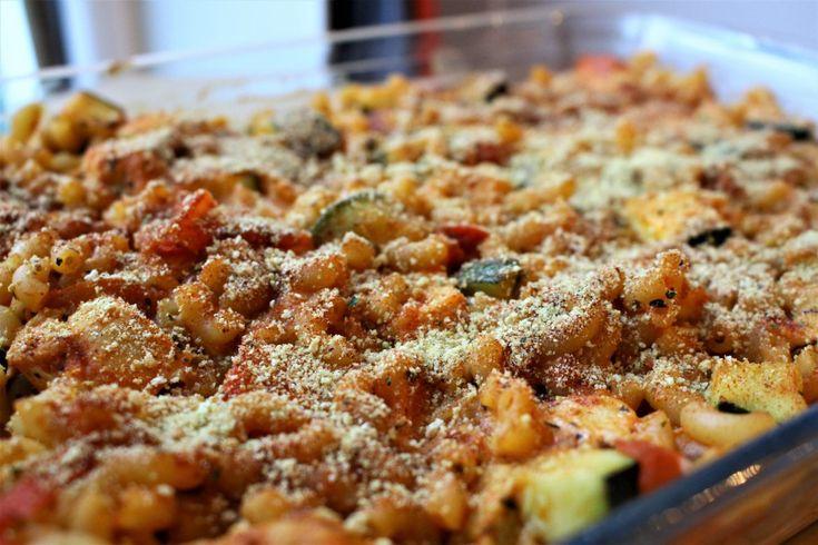 Macaroni ovenschotel (honig) zonder pakjes