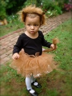 Lion Tutu Costume for Halloween