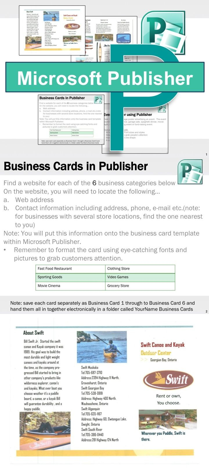 Microsoft publisher activities for Microsoft publisher brochure