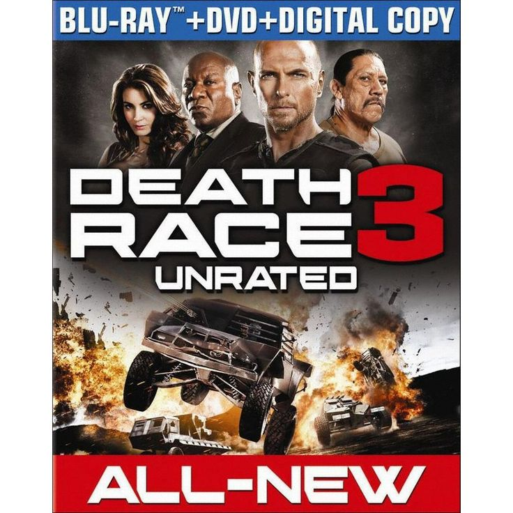 Death Race 3: Inferno [2 Discs] [Includes Digital Copy] [UltraViolet] [Blu-ray/DVD]