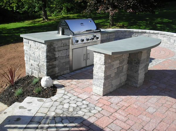 Backyard Bar And Grill : outdoor bar and grill  Outdoor Spaces  Pinterest