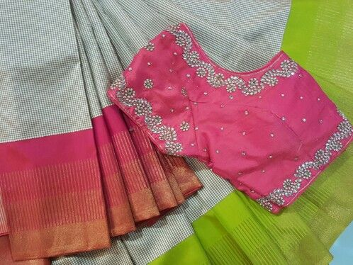 Ready to wear blouses for all occasions and all sarees..!! In all sizes too..!!