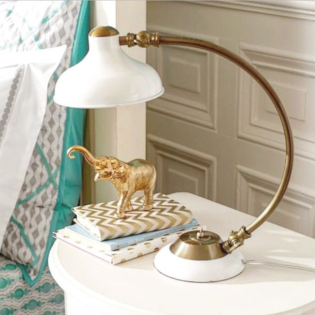 Pottery Barn Clip On Lamp: This Task Lamp From PBteen Is Pretty Darn Cute.. Via