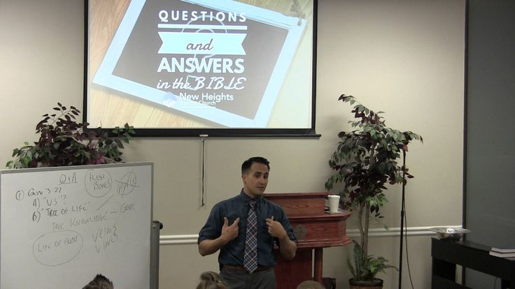 2017-03-29 Pastor Adrian Dominguez - Bible Questions and Answers