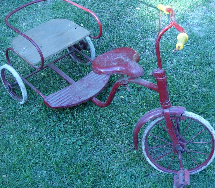 Triciclo  para pasajero, Antigüedades Carroza