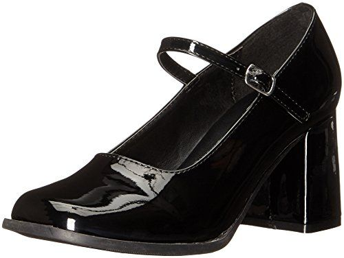 Womens Mary Jane Shoes with 3 Inch Heel sz 8 * Click the VISIT button to view the details