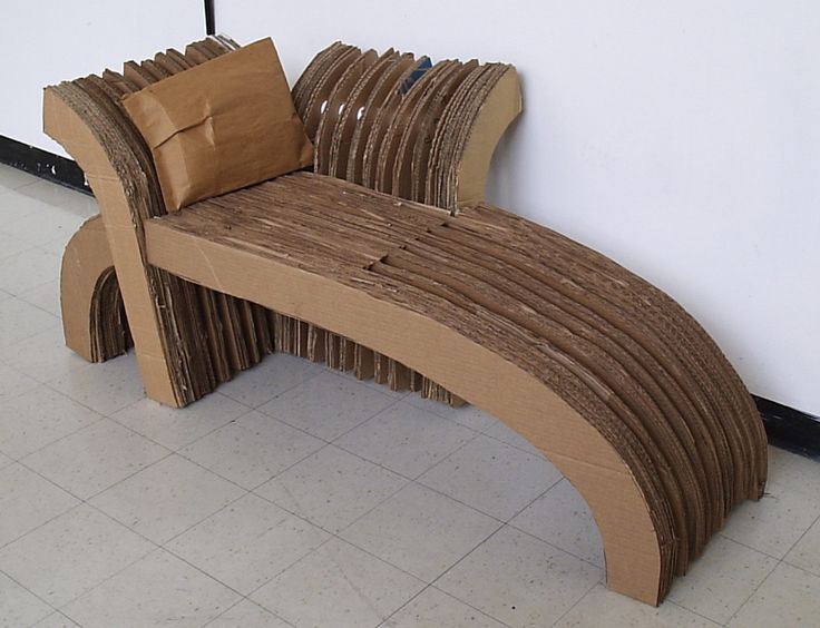Cardboard chairs cardboard chair cardboard art and 3d for Furniture 3d design