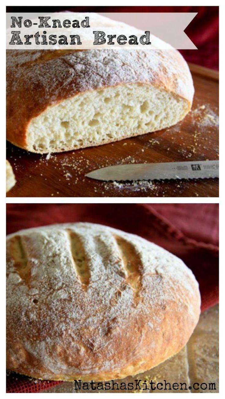 Better No-Knead Bread Recipe — Dishmaps