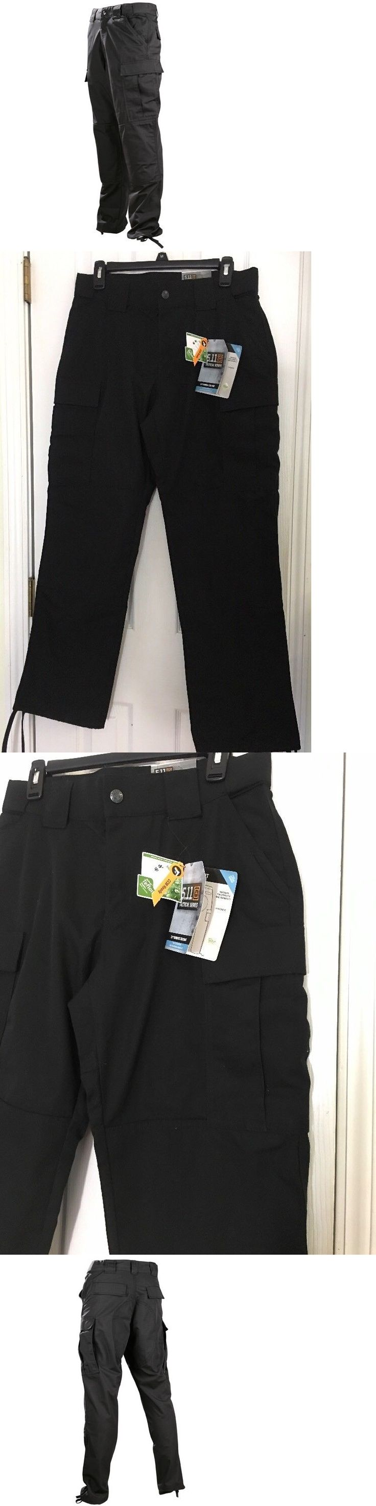 Tactical Clothing 177896: Nwt Womens Ems? Black Cargo 511 Tactical Tdu Pants 8 Ripstop 64359 -> BUY IT NOW ONLY: $36.88 on eBay!