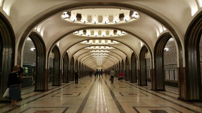 My home-metro-station for 2 amazing years Mayakovskaya. I will miss it there...