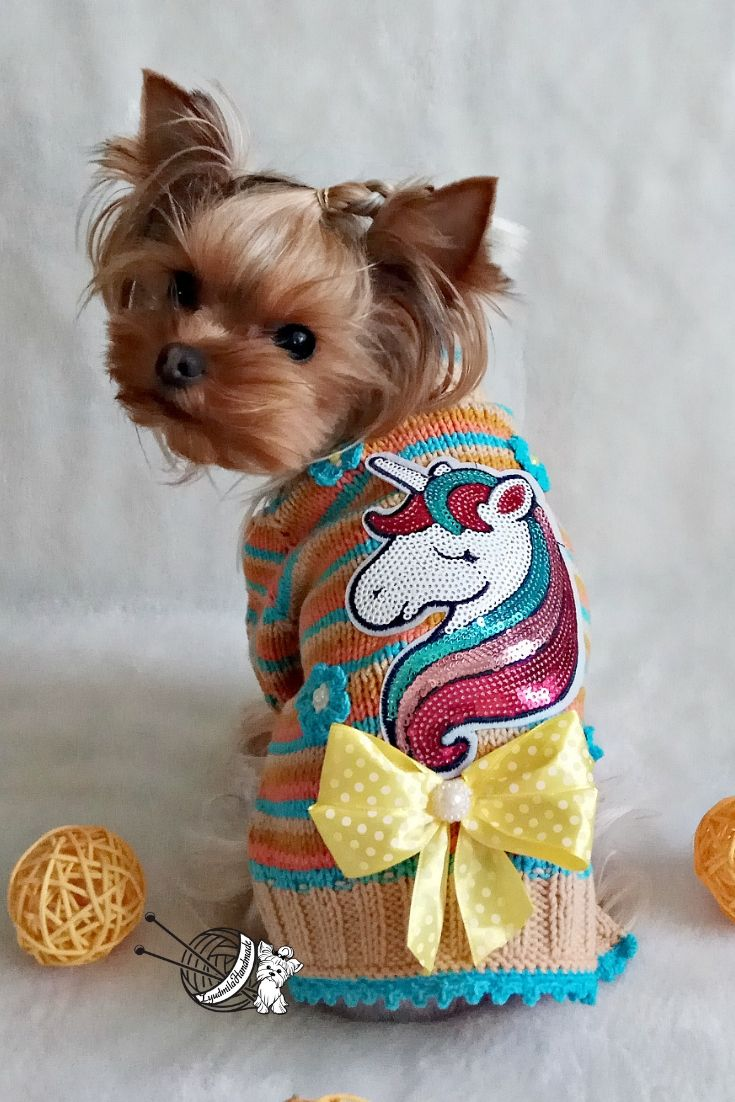 Knitted Dog Sweater Dog Costume Dog Costumes For Dogs Dog Winter