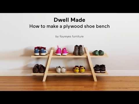 Dwell Made Presents: DIY Modern Shoe Rack - Dwell