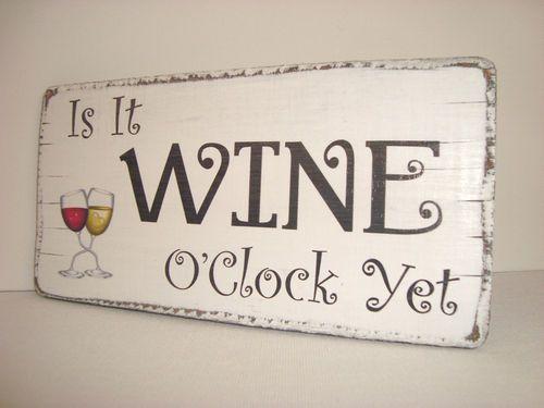 Cute wine saying