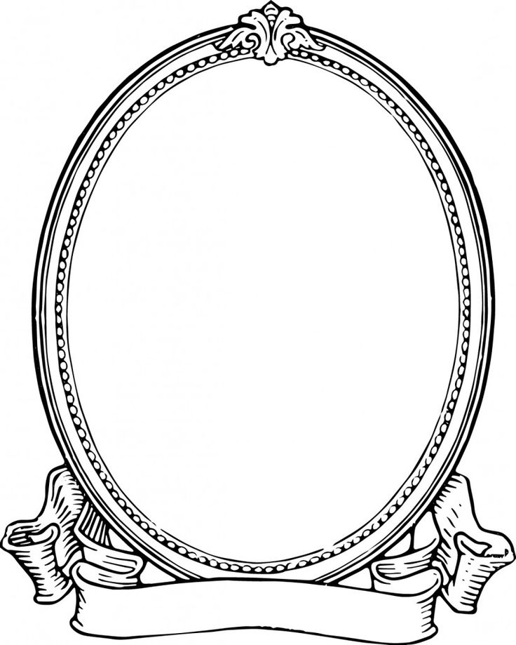 Free Clip Art - Vintage Photo Frame   Oh So Nifty Vintage Graphics