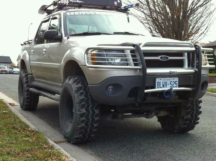 Trail ready sport trac Hopefully mine will look like this