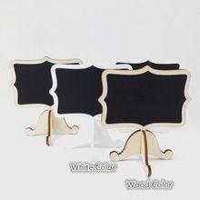 Conjunto de 12 Peças Escudo Fantasia Curto Rótulo Dos Alimentos Branco Preto do casamento Estande Quadro Número Da Tabela De Cartão de nome Buffet Sign marcador(China (Mainland))
