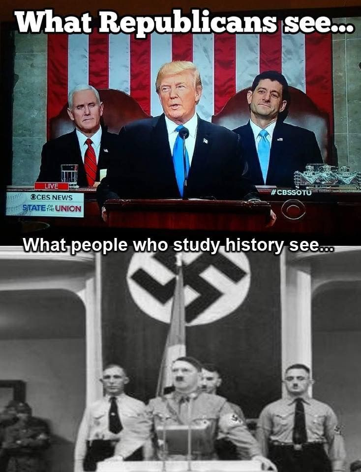 People like me who have an affinity for studying the past.  It helps us know our future!  Which is why I don't respect this man, Donald Trump, one bit.