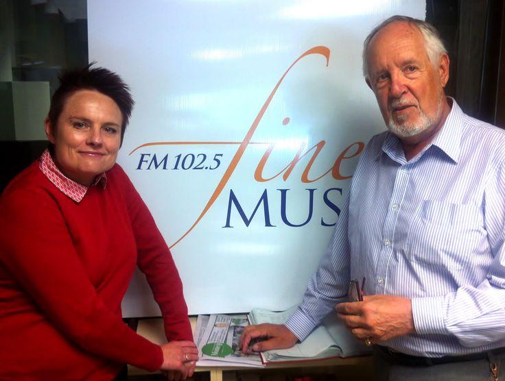 Carolyn Watson and Michael Morton-Evans,  August 2015