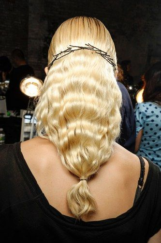 Catwalk hair trends Catwalk hair trends for spring/summer 2013: Fashion Week hairstyles
