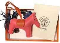 Hermès Hermes De Sac Rodeo MM Rose Azalee / w receipt