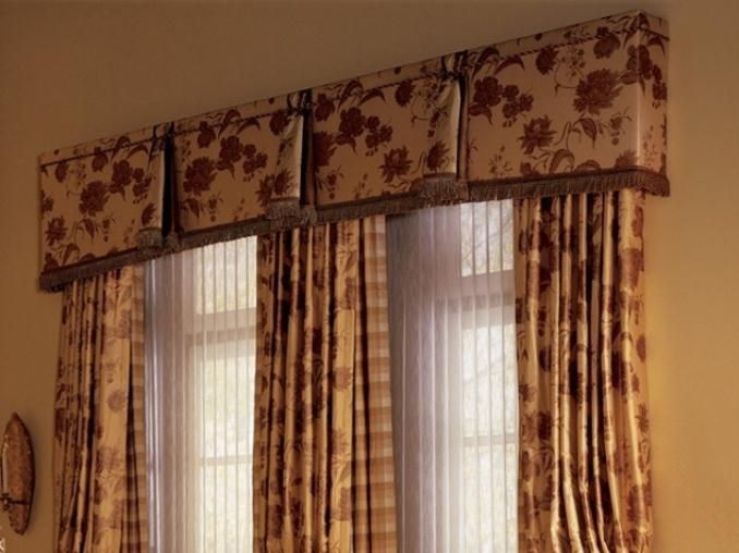 Valances For Large Windows Contemporary Valance House