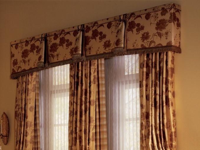 Valances For Large Windows Contemporary Valance House