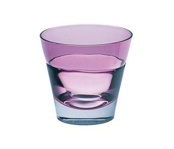 バイオレットカラー(大人ピンク)のロックグラス