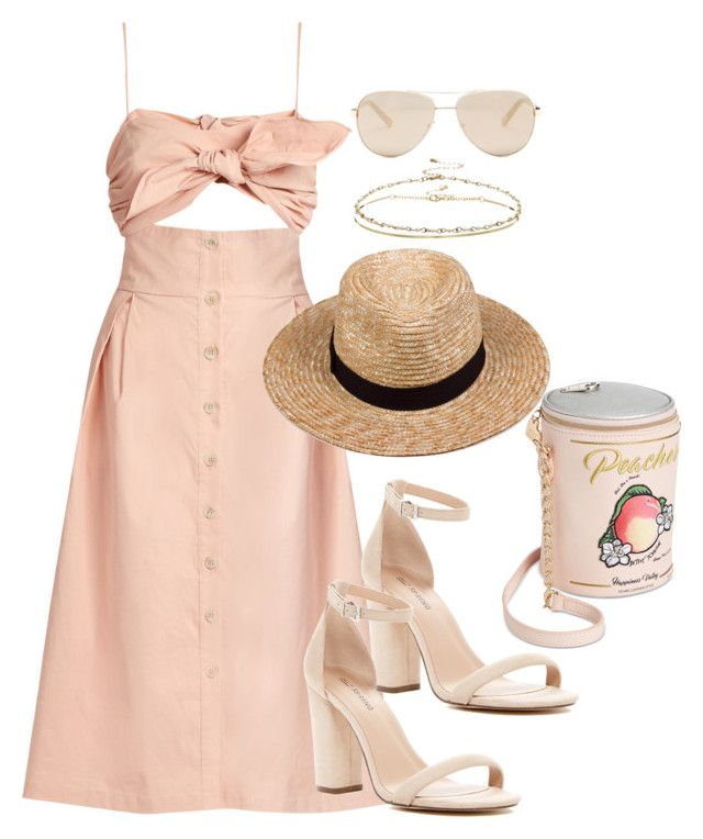 """""""Untitled #3531"""" by theaverageauburn ❤ liked on Polyvore featuring Sea, New York, Lack of Color, Betsey Johnson, ASOS, Ted Baker and Call it SPRING"""