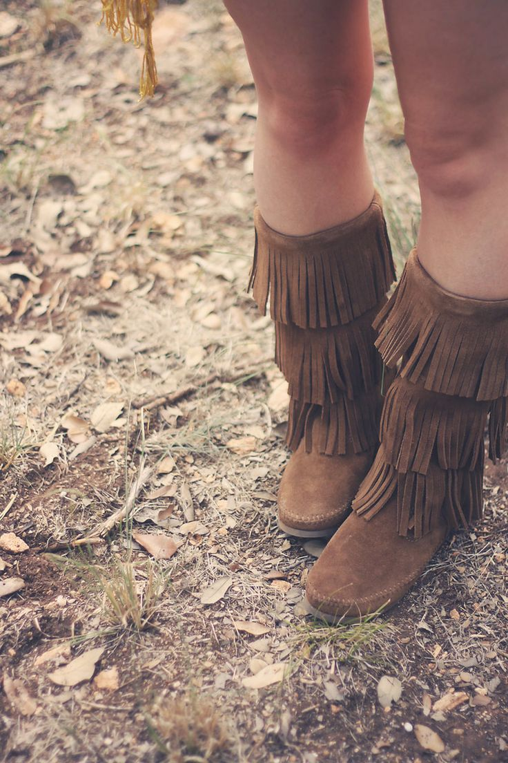 Minnetonka suede leather knee high tall lace up moccasin fringe boots - Minnetonka Blogger Spotlight Moccasin Bootsmoccasinsladies Bootsfringe
