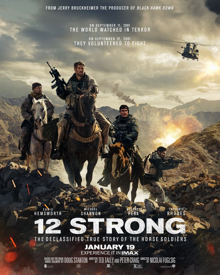 The 12 Strong Movie hits theaters on January 19th. Learn more about the film, and RSVP for the 12 Strong Movie Twitter party!